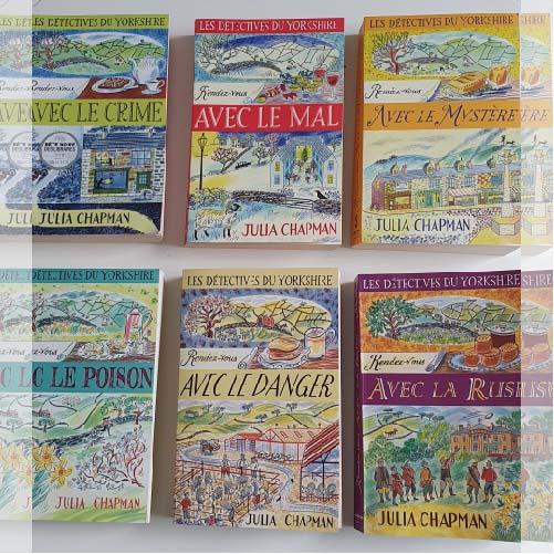 Les détective du Yorkshire : une série en 6 tomes