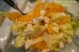 Salade d'endives aux agrumes