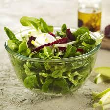 Salade de mâches, betteraves et noix