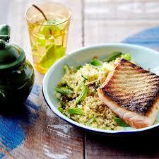 Papillote de saumon au quinoa