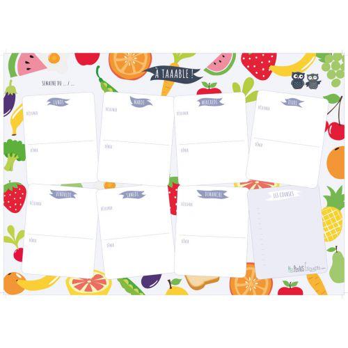Ouvrons nos assiettes aux fruits et légumes printaniers : idée de menus