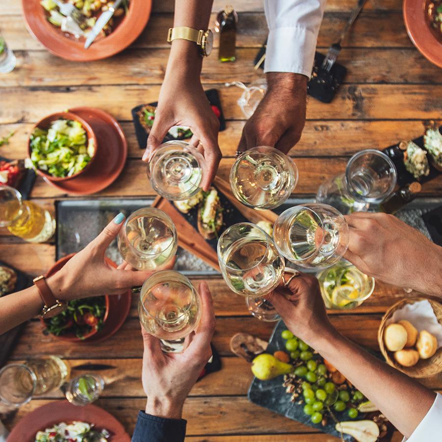 Menu festif à partager entre amis