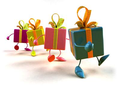 Des cadeaux à petits prix