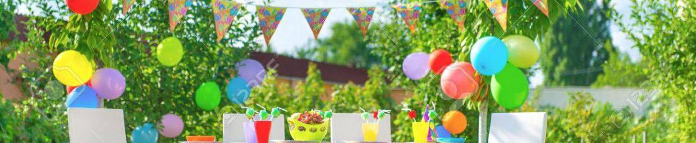 Si vous profitiez des beaux jours pour organiser en plein air les anniversaires de vos enfants ?