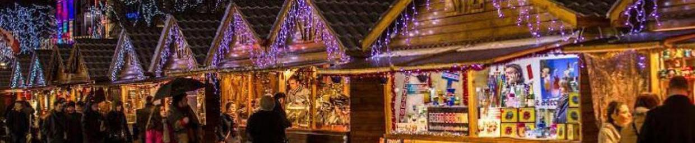 Ballade magique au marché de Noël de la Défense